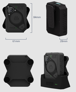 2018 OEM accepted Newest Body worn camera with docking equipped with Bluetooth function and WIFI for public security
