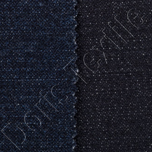 Raw Deep Black Stretch Cotton Denim jeans fabric HURRY! Almost Sold Out.