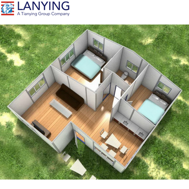 2 bedroom modular houses modern cheap prefabricated home - Are modular homes cheaper ...