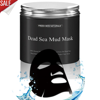 Organic herbal pure body naturals deep magnetic dead sea mud mask for Facial Cleanser