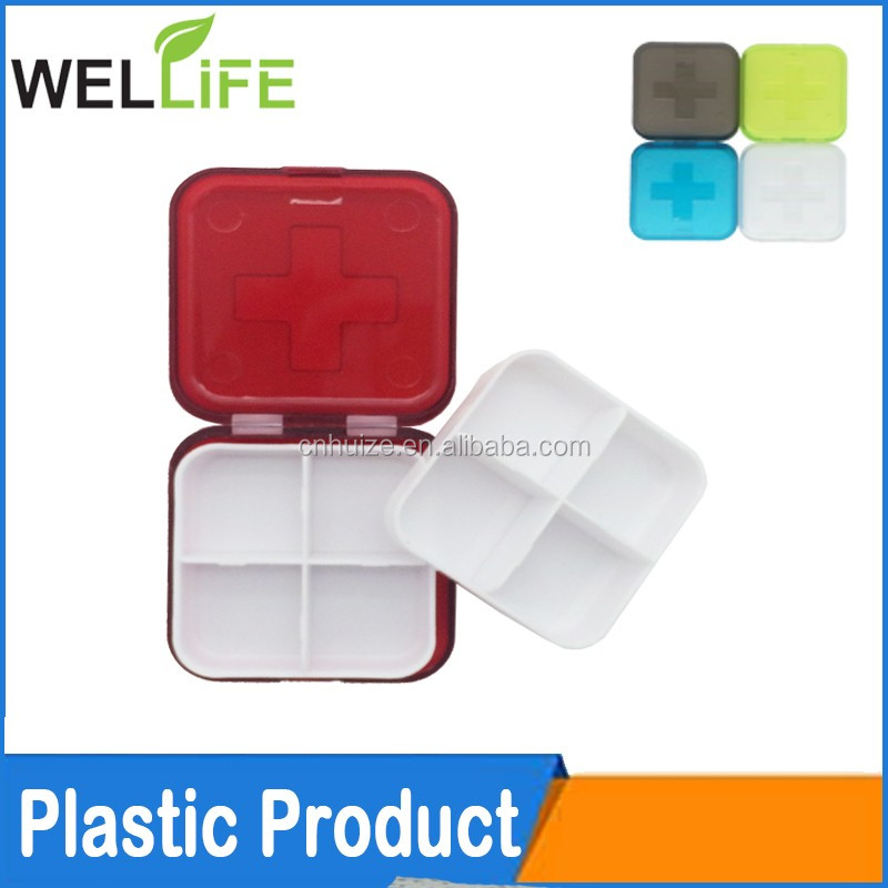 colorful 7 days plastic weekly pill box,pill case,vitamin box