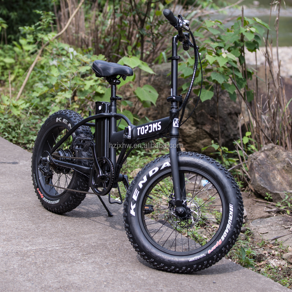 20inch foldable fat tire e bicycle / electric fat tire bicycle with lithium battery