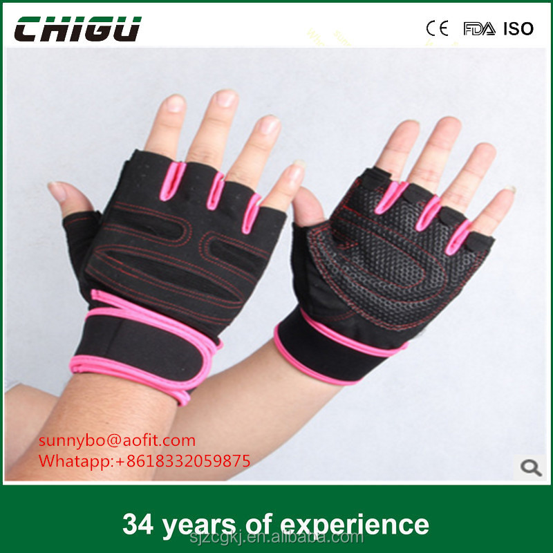 Durable OEM training neoprene Widely Used Weight Lifting sport Gloves