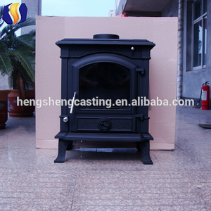 Factory direct hot sale wood stove Cast iron material Superior indoor Wood Burning Stoves / wood stove for sale