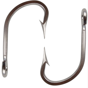 Hot Sale Quality 7731 Big Game Fish Hooks Stainless Steel Fishing Hooks