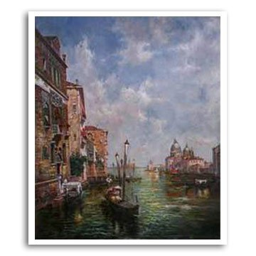 VS442-G3 Hand-made Venice Oil Painting
