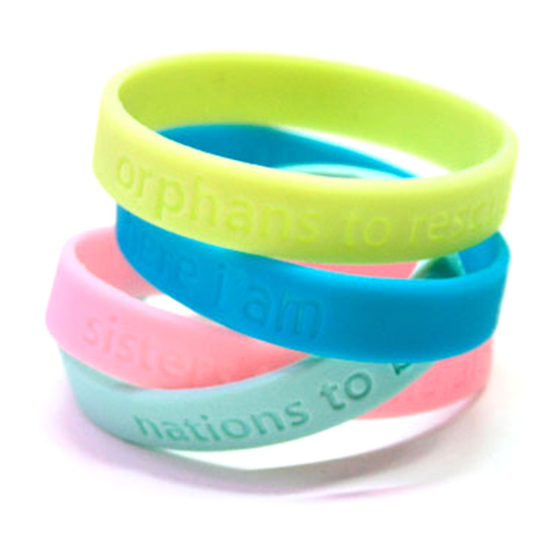 Best Eco-friendly Silicone Wristband Custom Personalized Silicone ...