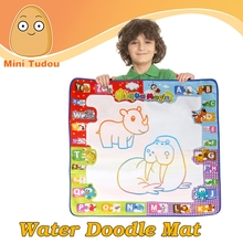 Water Drawing Mat Doodle Colorful Extra Large Size for Kids Doodle Learning Toy Educational Boys Girls Gift