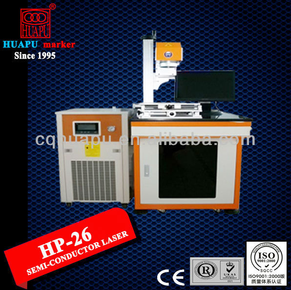 HP-26 Semi Conductor Laser Marking Machine for auto parts