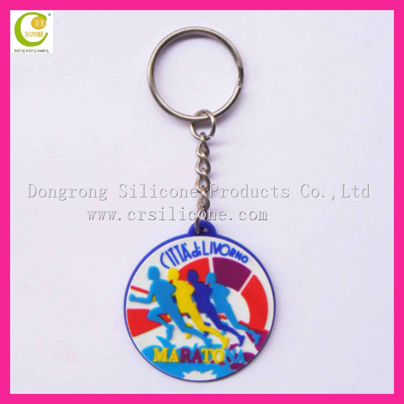 Eco-friendly material custom design personalized for honda keychain in various styles