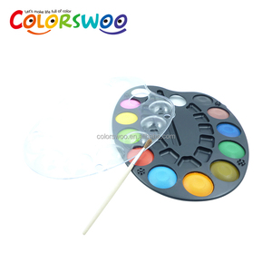 Art Supply 3.0cm*12 Color watercolor cake for Kids and Students, W0830S