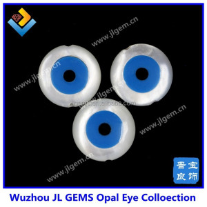 Wholesale new product round shell evil eye beads mother of pearl evil eye