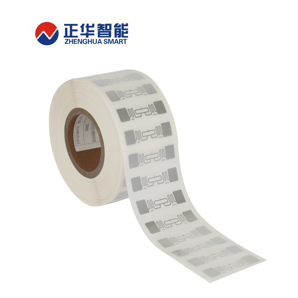 cheap rfid sticker tag dogbone inlay rfid plastic tag for asset identification