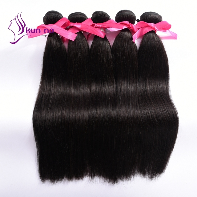 wholesale virgin indian hair products silky straight weave hair extensions human