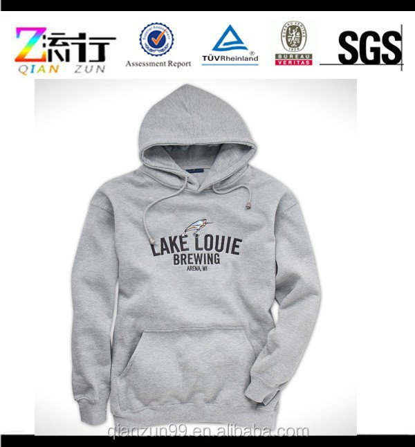 Heather grey custom hoodies men hoodies wholesale hoodies