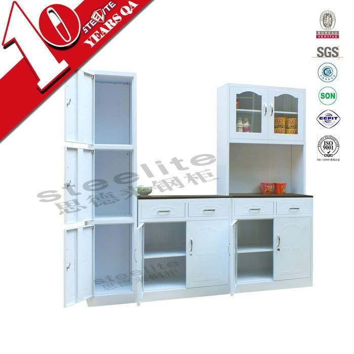 Custom made wooden panel kitchen cabinet / fashional Kitchen Cabinet with Gloss Finishing