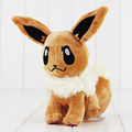 20cm Eevee Plush Toys Eevee Genius Soft Stuffed Animals Doll for Kids Toys Children Birthday Gift