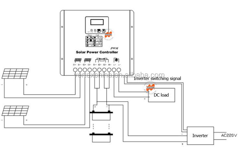 Hot Sale Vt100a 12v 24v Solar Panel Water Pump Controller 8000w