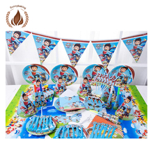 Professional paper kids theme birthday party supplies decorations