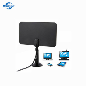 Low Price Portable HDTV Antenna Flat Digital Antena TV With F/IEC TV Connector