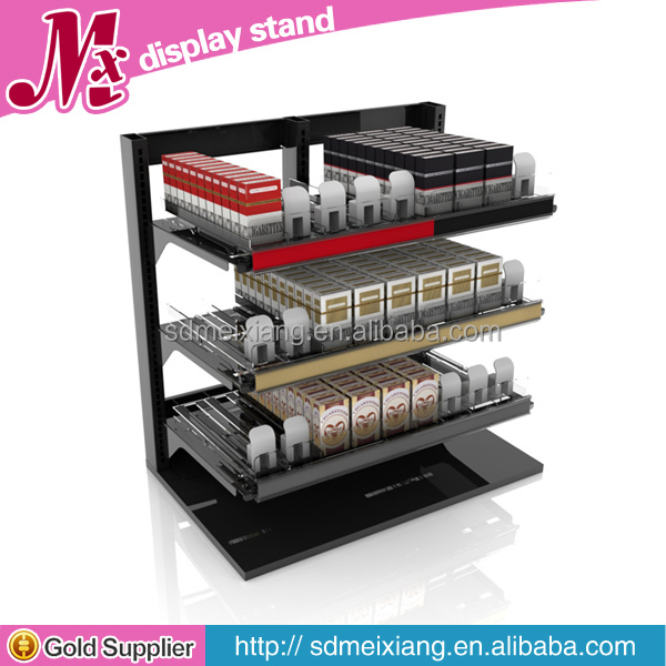 MX-AS003 Point of sale counter top display for tobacco and cigarette display