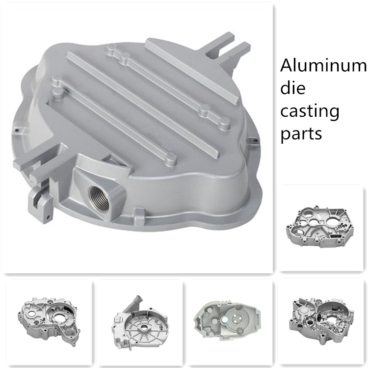 High pressure A380 A356 aluminium die casting engine cover for new energy auto