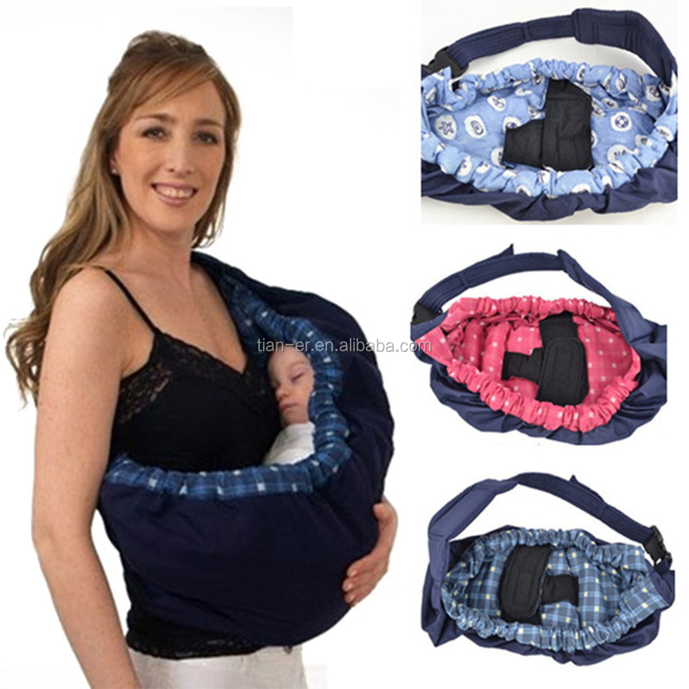 Cozy 0-36months infant swaddle design baby cotton ring sling