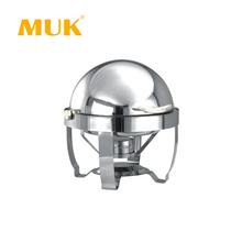 MUK hotel restaurant runde design edelstahl <span class=keywords><strong>buffet</strong></span> chafing dish