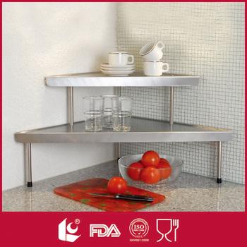 Made In China-tier Angolo Storage Cucina In Acciaio Inox Mensola ...