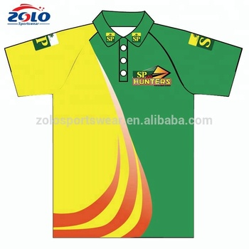 Custom Sublimation Running Dry Fit Polo Shirts