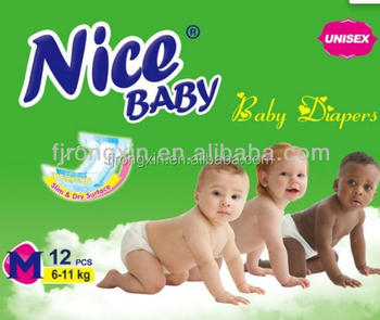 super soft and breathable baby diapers Nice brand daipers baby