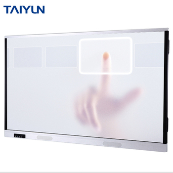 55 inch all in one pc touch screen interactive smart board wall mount whiteboard