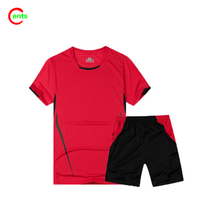 2017 Dyed Short Sleeves O Neck Training Uniforms Football Wear For Soccer