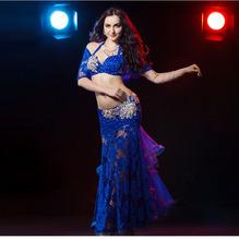 889cd5ccf0e3 Sexy Blue Belly Dance Costume