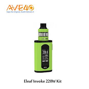 Vape Box Mod Kit Amazon Chinese Supplier Centered 510 Eleaf Invoke 220w Kit  With Ello T Tank - Buy Vape Box Mod Kit,Chinese Supplier,Eleaf Invoke 220w