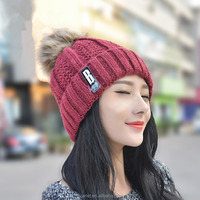 Wholesale Latest UK Style Colorful Wool Winter Knit Crochet Hat