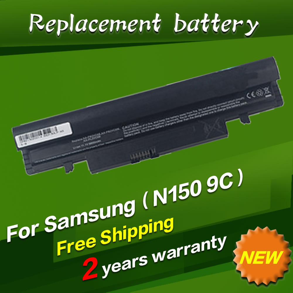 7800mAH laptop Battery For Samsung N100 N143 N145P N148 N150 N250 N260 AA PB2VC3B AA PB2VC3W