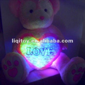 Stuffed Plush Teddy Bear/led Teddy Bear