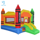 0.55mm pvc tarpaulin giant inflatable bounce house