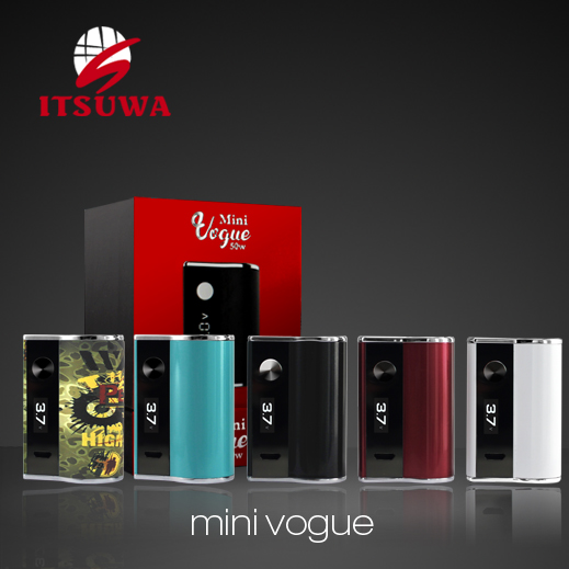 Amigo Itsuwa Mini Vogue 50W vogue mod with1.6ml Mini polestar tank