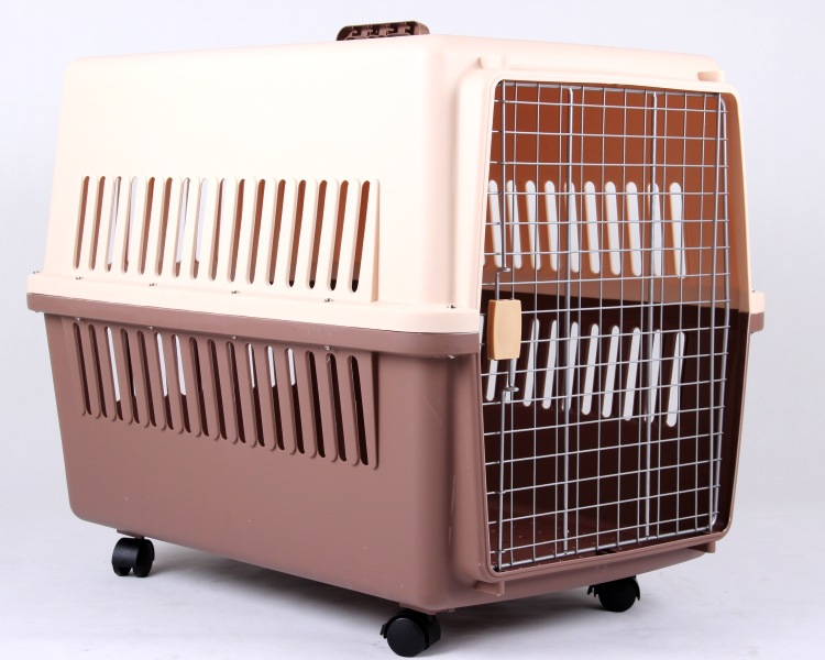 High quality pure raw materials checked air air-size more models flight dog cage for pets