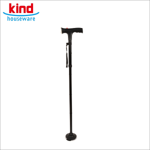New design foldable aluminum black ultimate magic cane elderly walking stick aluminum walking stick