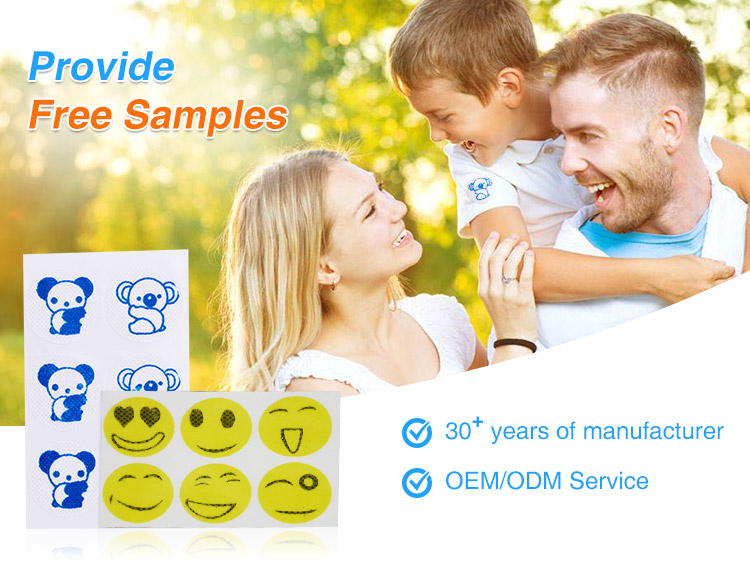 2020 hot sale Mosquito sticker repellent stickers pad