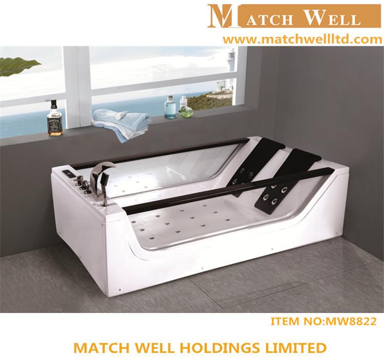 Moderno diseño ware sanitaria independiente bañeras acrílicas leña ...