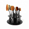 Multi-Color Round Shape Acrylic Makeup Brush Holder