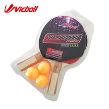 Vicball table en bois raquette de tennis