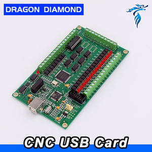 3 Axis Cnc Usb Card Mach3 200khz Breakout Board Interface, 3 Axis