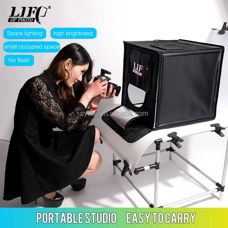 Professional Photographic Equipment LED440 Portable Photo studio, shooting tent/box