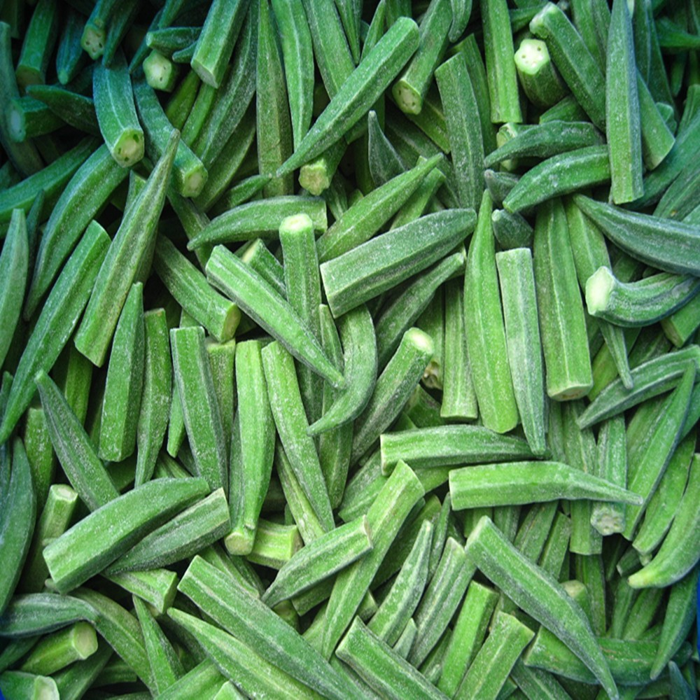 Good Quality Frozen Okra Whole And Cut