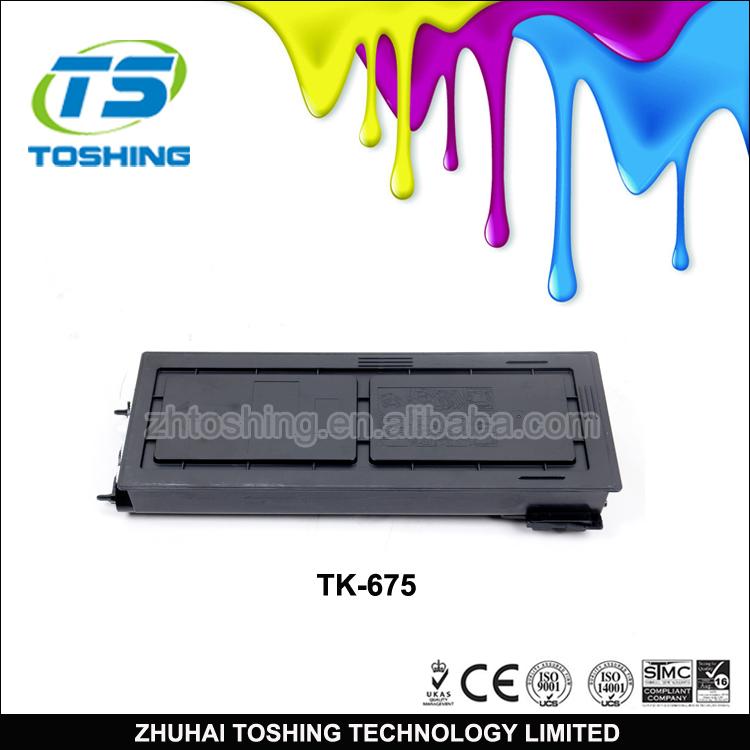 Compatible Toner Cartridge Tk-675 Tk675 For Kyocera Copier Km 3060 ...